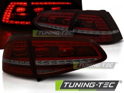 VW GOLF 7 13- RED SMOKE LED GTI LOOK