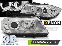BMW E90/E91 03.05-08.08 3D U-TYPE CHROME HID