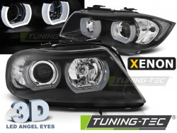 BMW E90/E91 03.05-08.08 3D U-TYPE BLACK HID