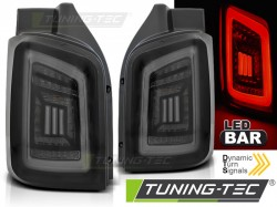 VW T5 04.03-09 / 10-15 SMOKE BLACK WHITE LED