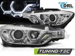 BMW F30/F31 10.11 - 05.15 ANGEL EYES LED CHROME DRL