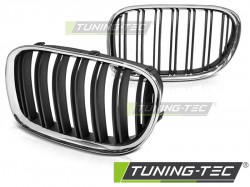 BMW F01 09-15 DUBLE BAR CHROME BLACK