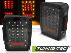 CHRYSLER JEEP WRANGLER JK 07-18 LED BLACK