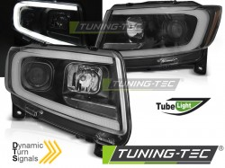 CHRYSLER JEEP GRAND CHEROKEE 11-13 BLACK TUBE LIGHT SEQ