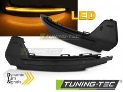 SIDE DIRECTION IN THE MIRROR SMOKE LED SEQ fits  AUDI A1 10-18