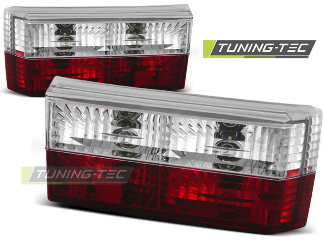 FANALI POSTERIORI TAILLIGHTS VOLKSWAGEN GOLF 1 05.74-07.83 RED WHITE