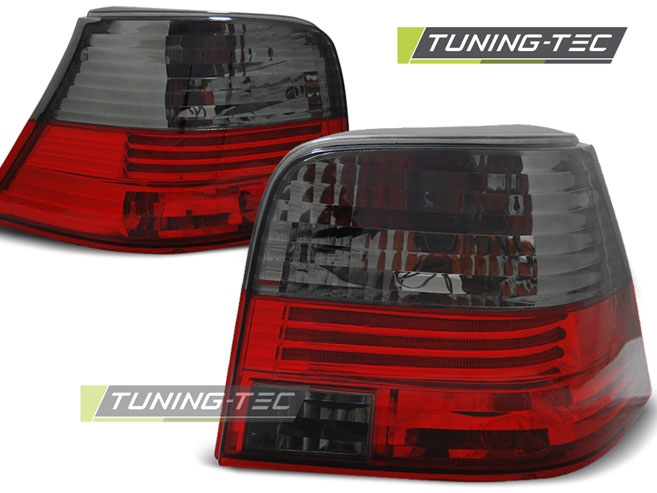 FANALI POSTERIORI TAILLIGHTS VOLKSWAGEN GOLF 4 09.97-09.03 RED SMOKE