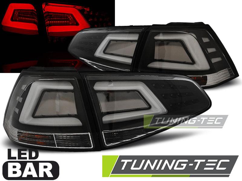FANALI POSTERIORI VW GOLF 7 13- BLACK LED BAR LOOK